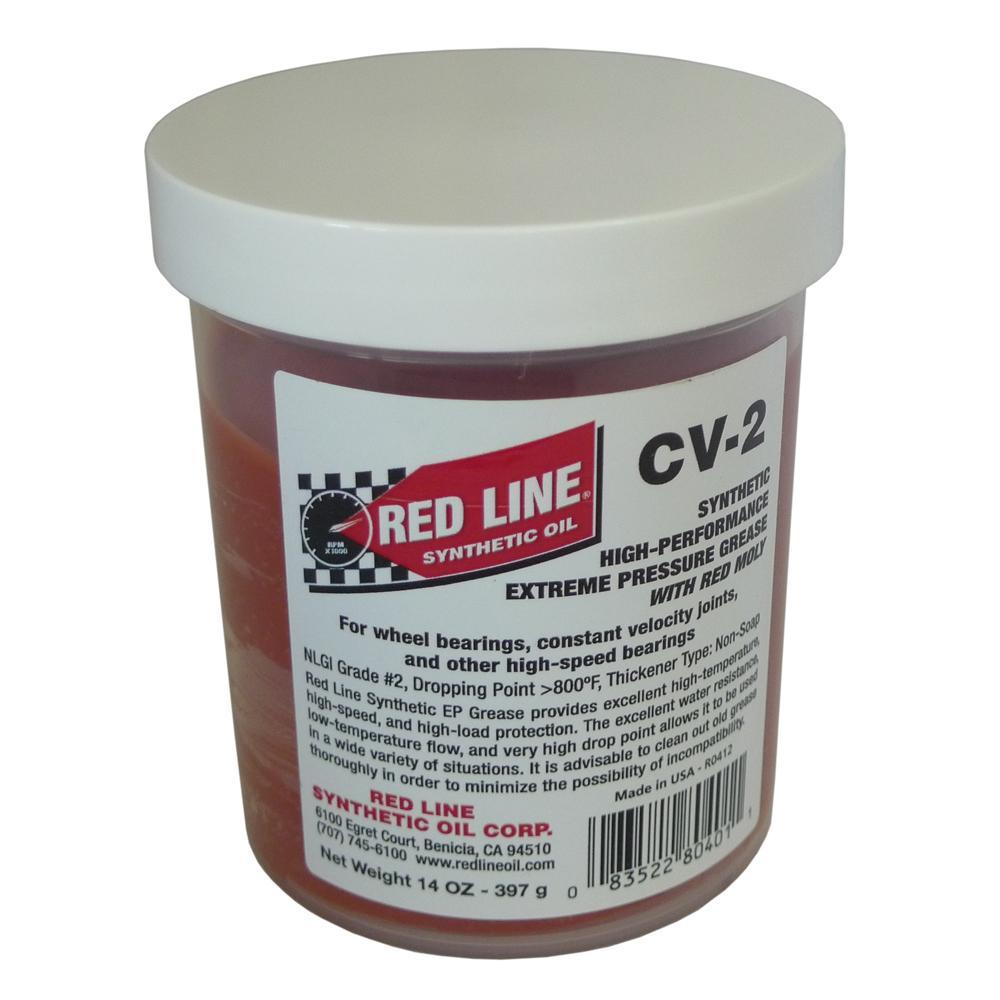 ligne rouge graisse de haute performance de cv
