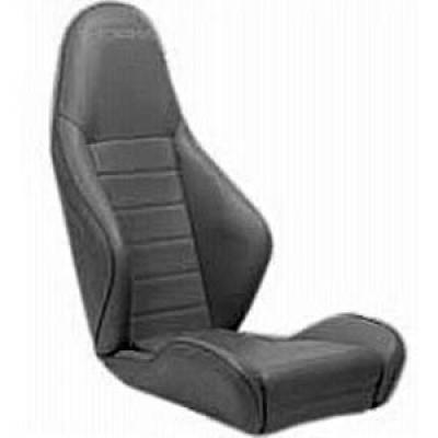 si ge baquet cobra roadster 7 en simili cuir noir merlin motorsport. Black Bedroom Furniture Sets. Home Design Ideas